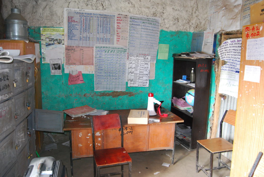 Mehoni School before the start of our project